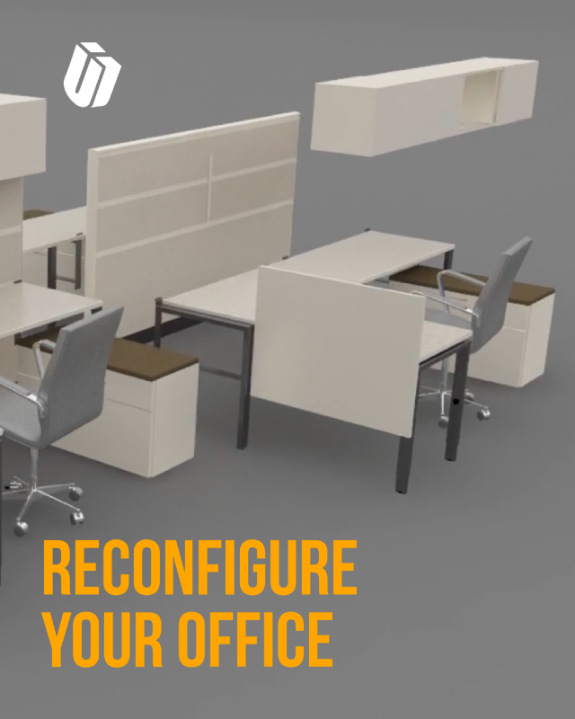 reconfigure your office